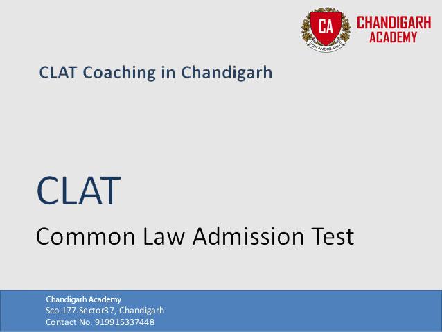 CLAT Coaching Institute in Chandigarh