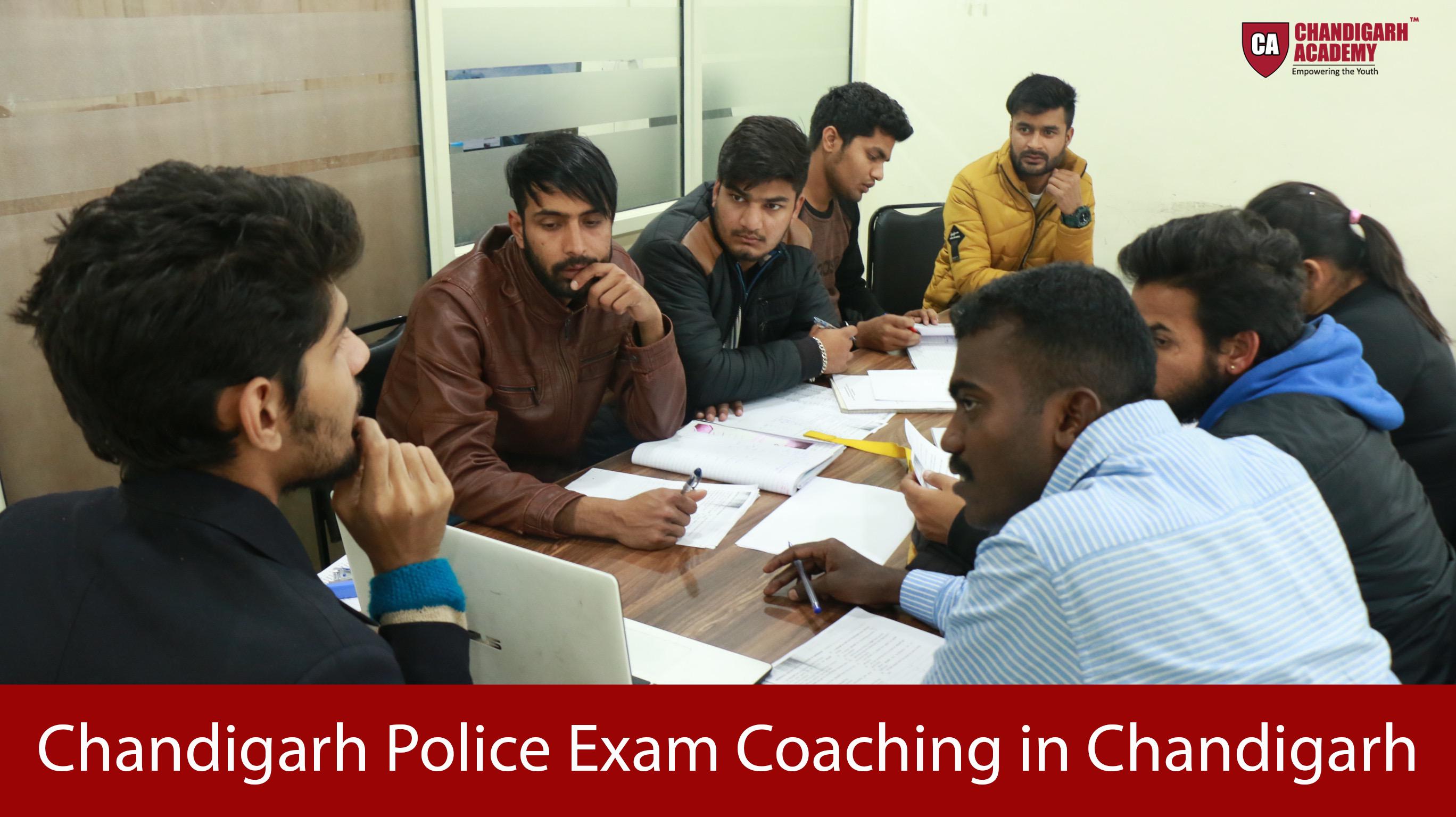 Chandigarh Police Exam Coaching in Chandigarh
