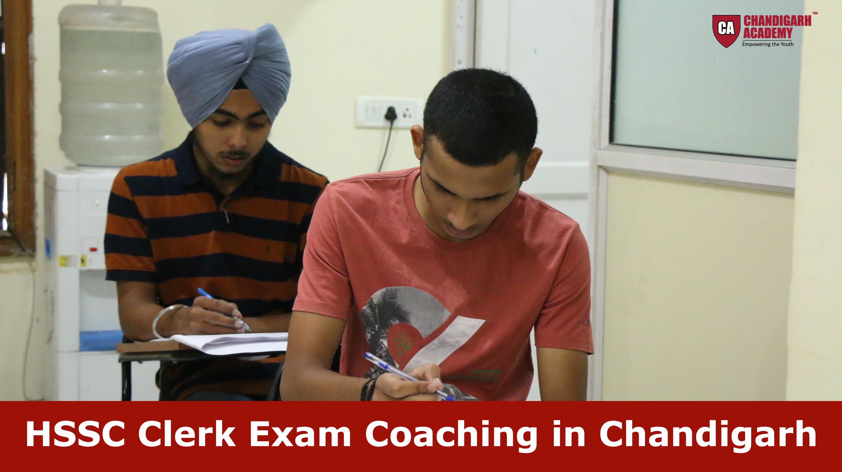 HSSC Clerk Exam Coaching in Chandigarh