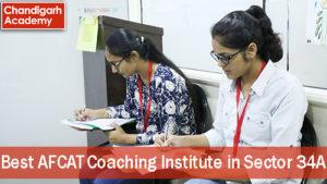Best AFCAT Coaching institute in Sector 34A