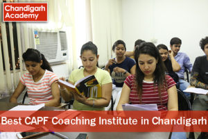 Best CAPF Coaching Institute in Chandigarh