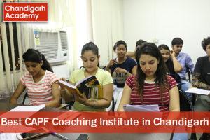 Best CAPF Coaching Institute in Chandigarh