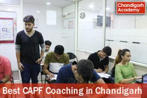 Best CAPF Coaching in Chandigarh