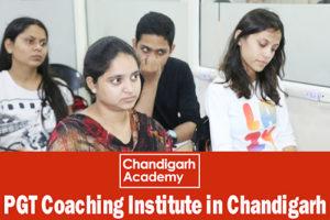 PGT coaching institute in chandigarh