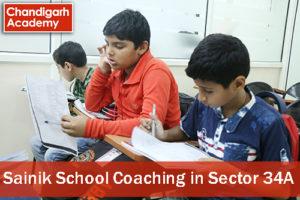 Sainik School Coaching in Sector 34A