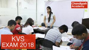 kvs exam 2018