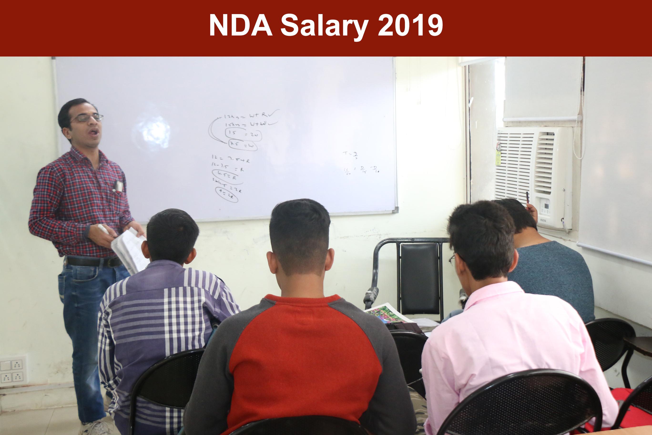 NDA Salary 2019