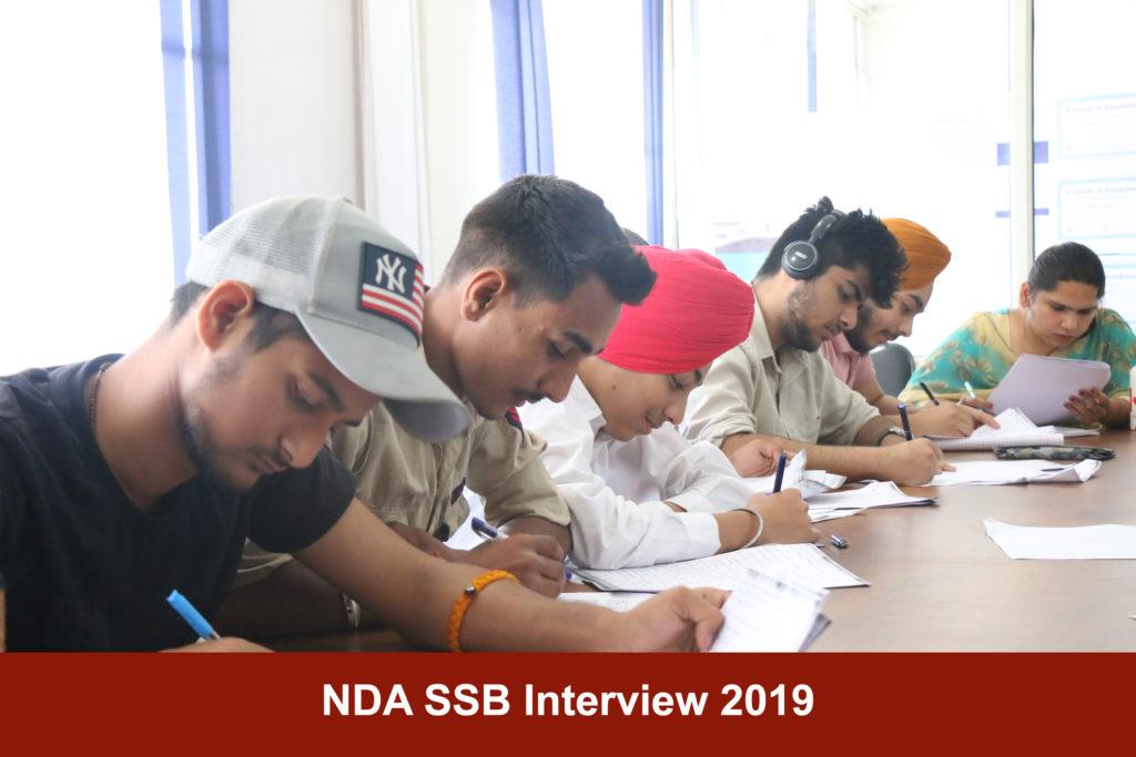 NDA SSB Interview 2019