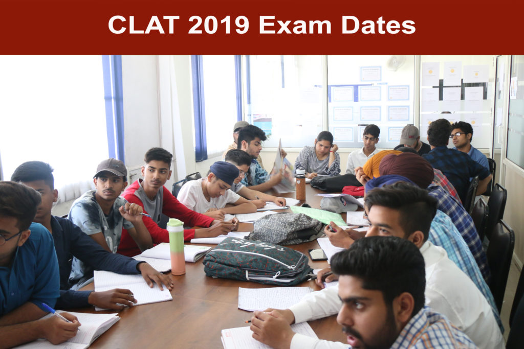 CLAT 2019 Exam Dates