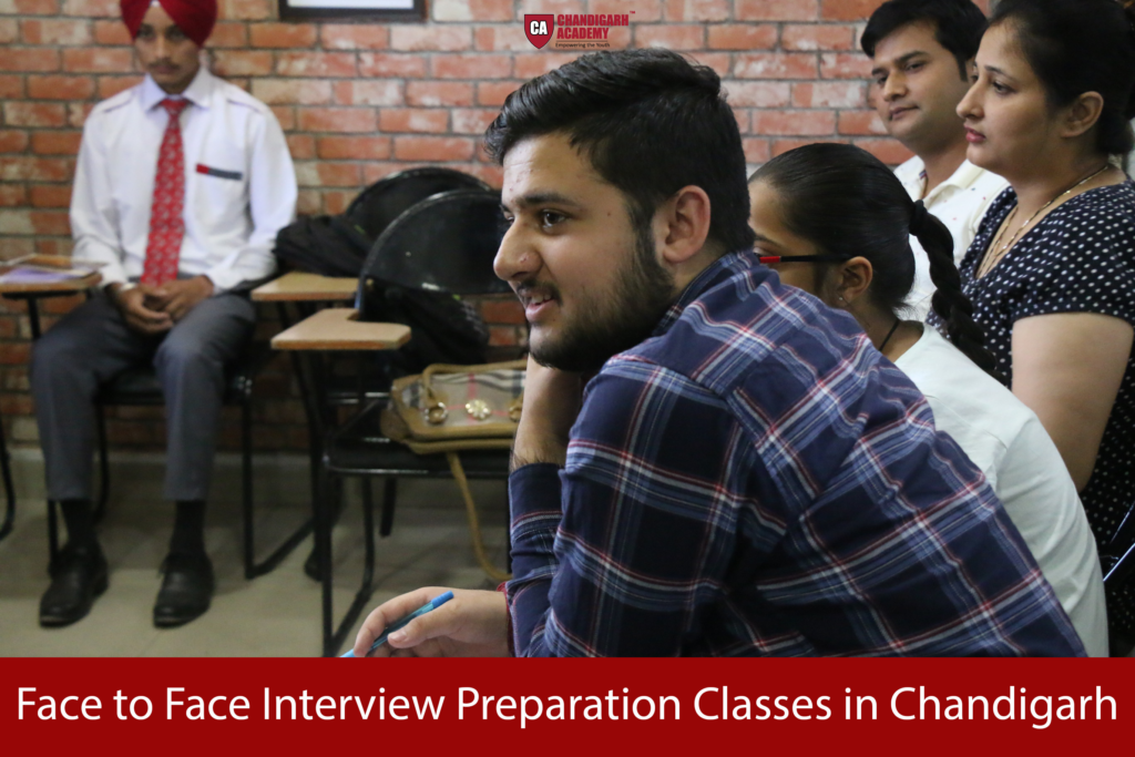 Face to Face Interview Preparation Classes in Chandigarh