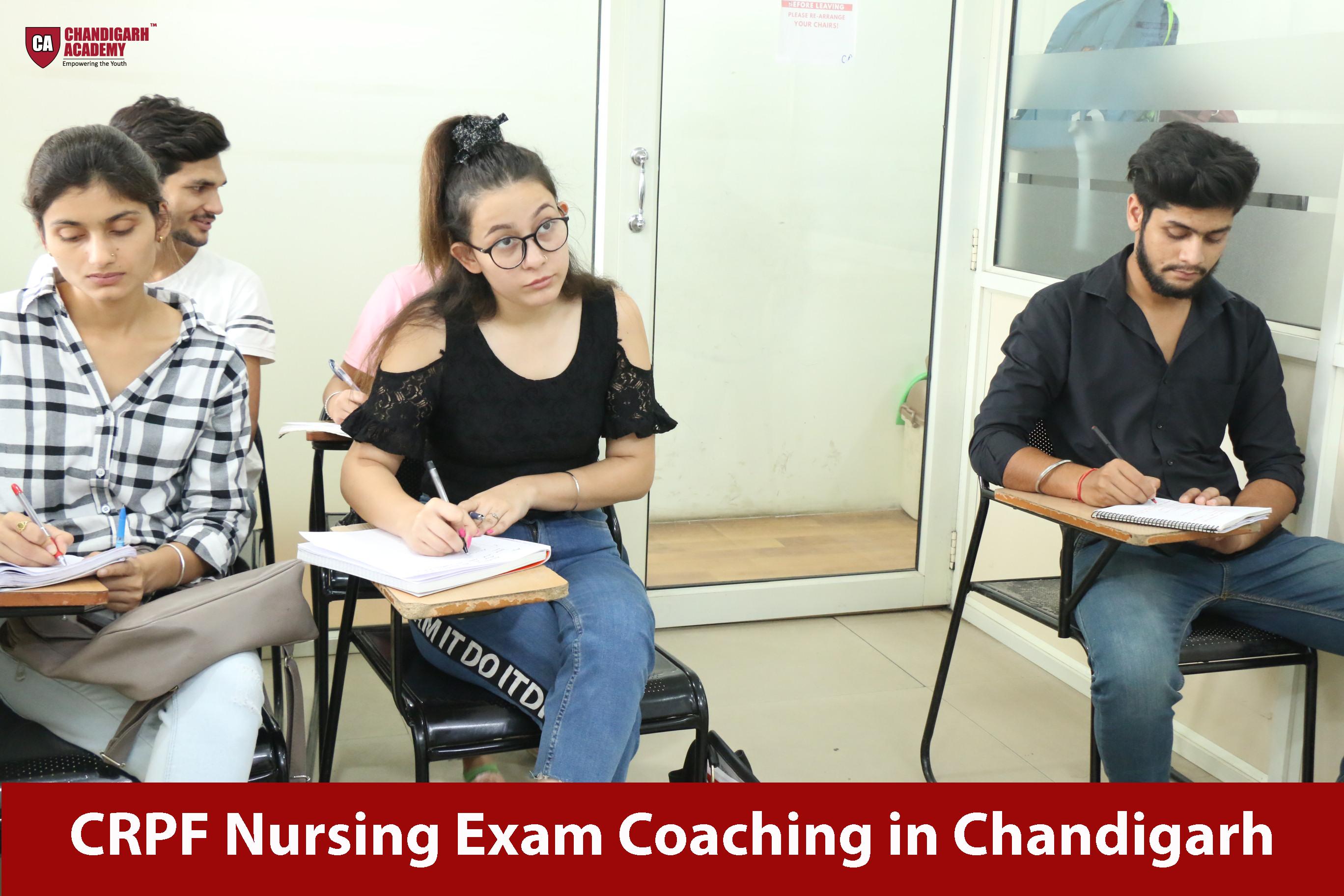 CRPF Nursing Exam Coaching in Chandigarh