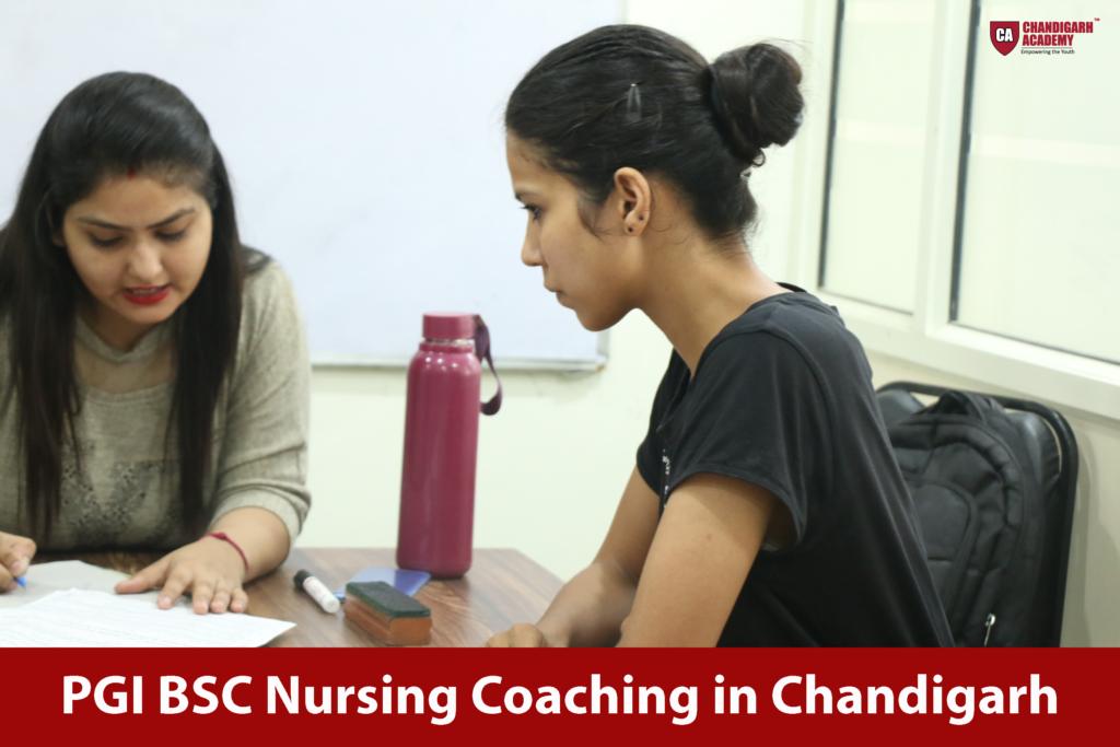 PGI BSC Nursing Coaching in Chandigarh
